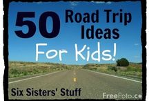 Road Trips, Long Journeys / Avoiding the 'are we there yet?'