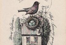 Птички Алена наливкина