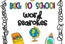 ED: Back to School / Back to school ideas and activities