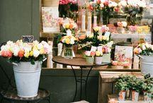 Boutique flower shop