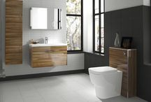 Create Warmth with Wood / Wood may have been unfashionable for a while, but its back with a bang this year… It's natural, earthy tones can add real warmth to the bathroom, which can tend to be more of a cool, clinical space.