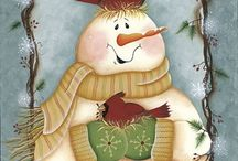 laminas decoupage navideñas