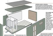 Ideias para a casa de container