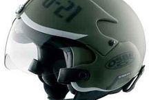 sepeda motor & helm