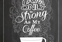 chalkboard coffee
