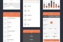 Mobile app UI / Mobile app UI