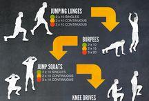 Men's fitness / by Amanda Beeks