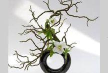 Ikebana e fiori