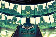 Batman Arkham Origins Blackgate Deluxe - Artworks & Draws