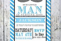 Little Man Birthday Party
