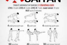 darebee workout anime