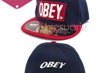 Obey Hip Hop Şapka Modelleri / Desenli, renkli ve daha bir çok çeşitte şapkalar sezonun en önemlileri arasında!  Siz en çok hangisini beğendiniz? http://www.aksesuarix.com/sapka