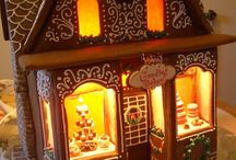 Gingerbread houses & ideas