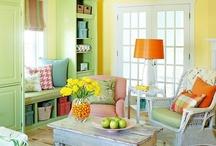 cottage decor / by Kathy Hardman