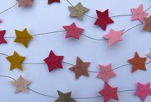 des étoiles