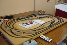 oo gauge railway layout