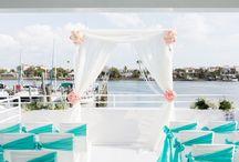 Celebration on water wedding