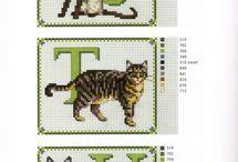 Cats' alphabet