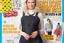 Dress Sewing Patterns / Simply sewing Freja dress denim apron sewing pattern. Issue 26
