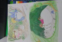 Mi vecino Totoro / #Totoro #mivecinototoro #dibujos