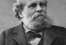 Giosuè Carducci / Giosuè Carducci (1835-1907), famoso poeta italiano, premio Nobel per la letteratura (1906), fu uno degli illustri ospiti dell'Hotel Mayer & Splendid, dove soggiornò nel 1883.
