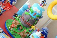 SR's Birthday Party Themes