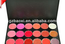multicolour lip stain palette
