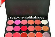 multicolour lip stain palette