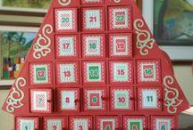 Calendarios de adviento 2016/Regala 24 dias de ilusion / una gran variedad de calendarios de adviento de madera.