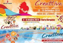 Eventi creativi  | Idee Creative in Bottega / Post di informazioni su #Eventi creativi in programma: mostre, fiere ecc..