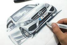 Concept car scketch