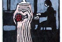 xilogravura expressionista