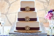 Wedding Cakes (bling) / Various bling cakes with jewels, beading, etc