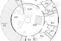 Unique Cob Home Designs / Cob house floorplans are intriguing.  These concepts are ones we like and could be build using traditional construction techniques or as yurts as well.