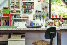 escritório e costura