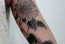sunflower tatttoo