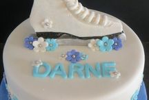 ice skating cakes