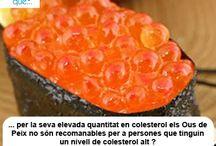 Ous de peix / Huevas / Aquí trobaràs curiositats sobre els ous de peix / Aquí encontrarás curiosidades sobre las huevas