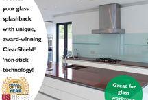 Glass Splashbacks & Worktops