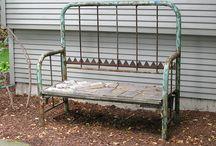 Vanha sänky/Old bed