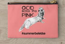 Fashionable Belette Le Pink / You can complete the fashion catalog on my Instagram account @belettelepink and follow the hastags #summerbelette  #goosdavethepink #mustelidsarethebestantidepressants #fashionablebelette #mustelidfashion #babybelette