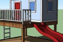 playhouse/playyard / by Melissa Brown