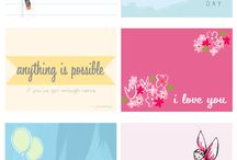 PRINTABLE LUNCH NOTES / Cute notes to put in kids lunch box