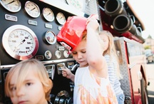 Kids Parties / The Company 77 firetruck is a great addition to any children's party!