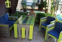 pallet furniture ideas and garden ideas