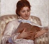 Mary Cassett / by Annetta Gregory Art