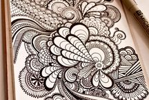 Zentangle dessin