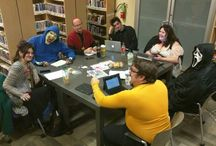 Nevermore Edits / What's being in a writing group like? Fun, educational, and sometimes really weird.