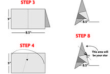 Christmas school origami