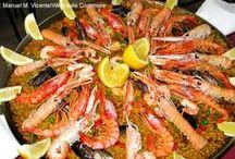Las comidas de la España / Las comidas típicas de la España
